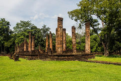 Srisatchanalai historical park in Sukhothai province, Stock Photo