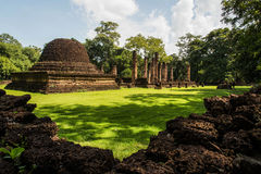 Srisatchanalai historical park in Sukhothai province, Stock Photos
