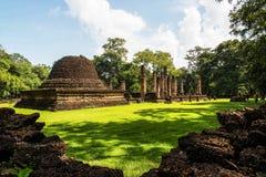 Srisatchanalai historical park in Sukhothai province, Royalty Free Stock Images