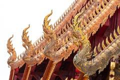 Srisuphan-Tempel Wat Si Suphan, Chiangmai, Thailand stockfotografie