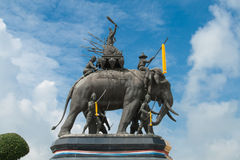 Srisuriyothai Monument Royalty Free Stock Image