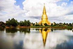 Sriwiengchai pagoda w Lamphun Tajlandia Obrazy Royalty Free