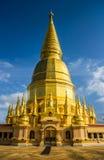 Sriwiengchai pagoda w Lamphun Tajlandia Obrazy Stock