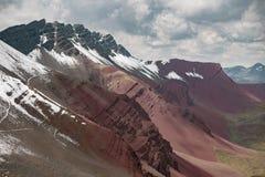 Srogi góra krajobraz zdjęcie royalty free