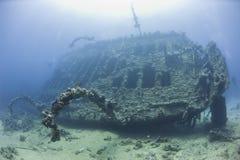 Srogo sekcja wielki shipwreck Zdjęcie Royalty Free