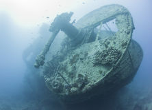 Srogo sekcja wielki shipwreck Fotografia Royalty Free