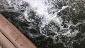 Pheonix,Az, 3.24.2018. Arizona Falls. SRP, Arizona Falls a Restored hydroelectric plant stock footage