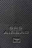 SRS气袋标志 免版税库存图片