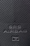 SRS-Airbagtecken Royaltyfri Bild