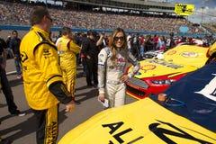 Srta. Coors Light NASCAR Sprint ahueca Fotografía de archivo libre de regalías