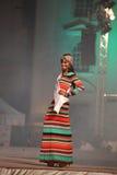Srta. Egypt en su traje nacional Imágenes de archivo libres de regalías