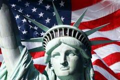 Srta. Liberty Foto de archivo libre de regalías