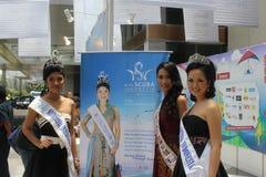 Srta. Scuba International 2011 fotografía de archivo