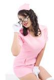 Srta. Sensuality Foto de archivo libre de regalías