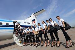 Srta. Tourism Queen Thailand 2017 del viaje de la excursión que acampa Fotos de archivo libres de regalías