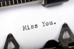 Srta. You Fotografía de archivo libre de regalías