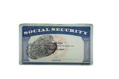 SS卡片印刷品 免版税库存照片