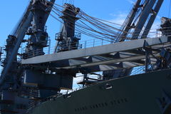 SS大峡谷状态海军载体 免版税图库摄影