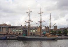 SS大英国船在布里斯托尔 库存图片