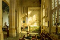 SS彼得和保罗教区教堂圣母堂Northleach英国 免版税库存图片