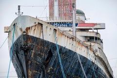 SS Ηνωμένες Πολιτείες Στοκ Φωτογραφία