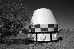 SS-18撒旦RS-20V - Voevoda弹头的运输容器  洲际的核弹道导弹 库存图片