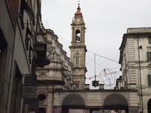 SS Annunziata Church in Turijn royalty-vrije stock fotografie