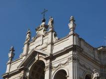 SS Annunziata Church in Turijn royalty-vrije stock foto's