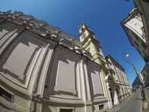 SS Annunziata Church in Turin Stock Photos