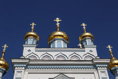 Ss Boris e Gleb Cathedral Foto de Stock Royalty Free