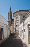 SS. Cosma e Damiano Basilica. Alberobello. Apulia. Royalty Free Stock Images