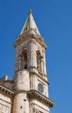 SS. Cosma e Damiano Basilica. Alberobello. Apulia. Stock Photo