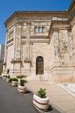 SS. Cosma e Damiano Basilica. Alberobello. Apulia. Stock Image