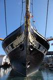 SS Great Britain. The SS Great Britain in her dry dock in Bristol, Somerset, England Stock Photos