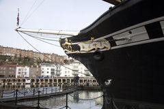SS Great Britain in dry dock Bristol UK Royalty Free Stock Photography