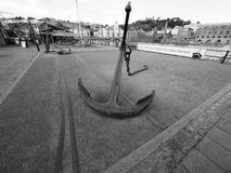 SS Great Britain ship in Bristol in black and white Stock Images