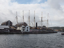 SS Great Britain ship in Bristol Stock Image