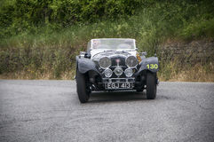 SS Jaguar 100 1937 Lizenzfreie Stockfotos