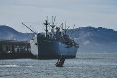 SS Jeremiah O`Brien, Liberty ship. royalty free stock photo
