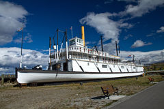 SS Klondike, a historic paddlewheeler from the Gold Rush era Royalty Free Stock Photography