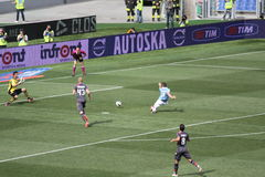 SS LAZIO GEGEN BOLOGNA (6:0) Miroslav Klose-goleador lizenzfreie stockfotografie