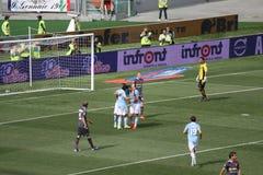 SS LAZIO goleador VERSUS van BOLOGNA (6:0) Miroslav Klose stock foto's