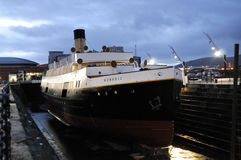 SS Nomadic. The SS Nomadic in Belfast, Ireland.  The last surviving ship of the White Star Line Stock Images