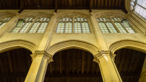 SS Peter and Paul parish church Gallery low angle Northleach Eng Royalty Free Stock Image