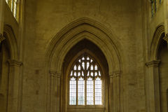SS Peter and Paul parish church Tower Internal Arch Northleach E Stock Photos