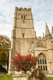 SS Peter and Paul parish church Tower North Facade Northleach En stock photography