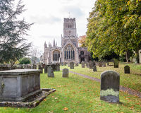 SS Peter and Paul parish church West Facade C Northleach England royalty free stock photos