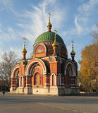 SS. Peter and Paul Temple. Lipetsk. Russia. SS. Peter and Paul Temple. Lipetsk city. Russian Federation Stock Photo