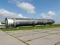 Ss-raket 18 Satan i museet Royaltyfria Bilder