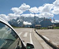 SS 51 ROAD, NORTHERN ITALY Royalty Free Stock Image